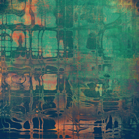 Abstract grunge background or aged texture. Old school backdrop with vintage feeling and different color patterns 스톡 콘텐츠