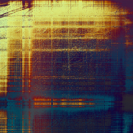 Grunge scratched background, abstract vintage style texture with different color patterns 免版税图像