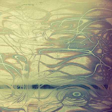 Grunge texture, decorative vintage background. With different color patterns