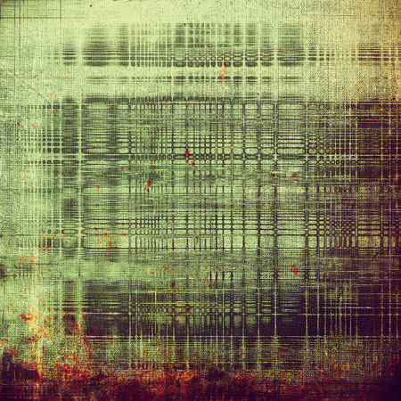 Oldest vintage background in grunge style. Ancient texture with different color patterns