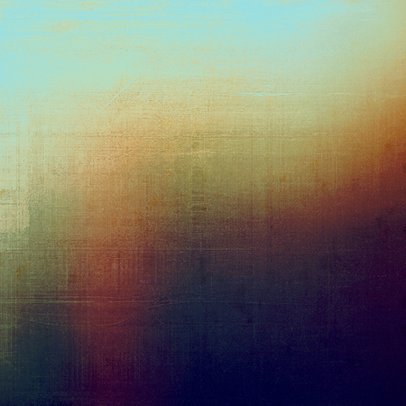 Grunge background or vintage texture in traditional retro style. With different color patterns