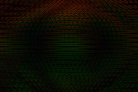 Tricolor futuristic abstract background with gradient and honeycomb structure.