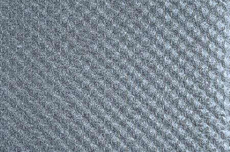 Weaving texture background with a grungy gray vertical pattern.
