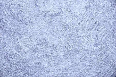 Abstract gray white wallpaper texture close up. Brush strokes. Standard-Bild