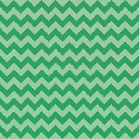 Seamless chevron pattern, green color. Vector illustration