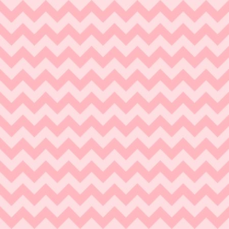 Seamless chevron pattern, pink color. Vector illustration Illustration