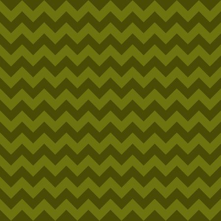 Seamless chevron pattern, green khaki colors. Vector illustration Illustration