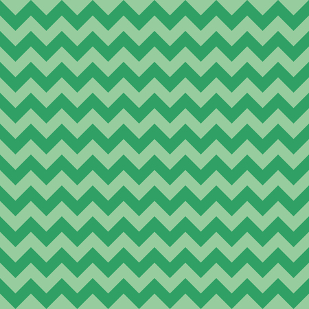 Seamless chevron pattern, green color, raster illustration