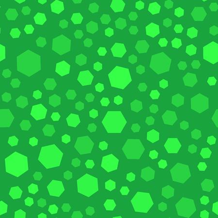 Abstract polygon seamles pattern, green color, raster illustration Stok Fotoğraf