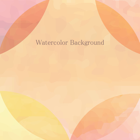 deckled: Watercolor light background whith place for text Illustration