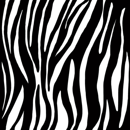Abstract watercolor hand painted background. Vector animal zebra skin. Seamless pattern. Illustration