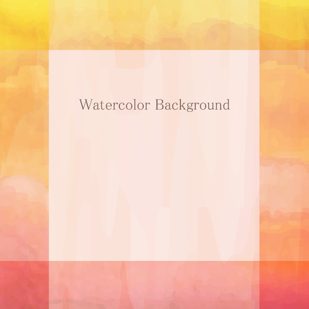 deckle: Watercolor light background whith place for text Illustration