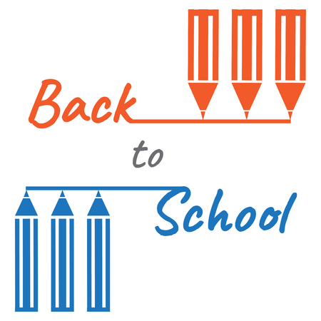 Back to school design. Illustration