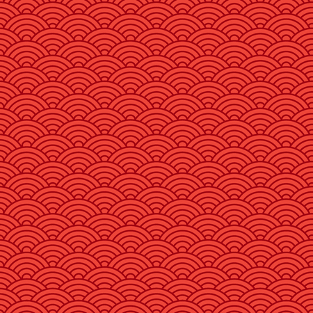 Chinese seamless pattern. Vector illustration