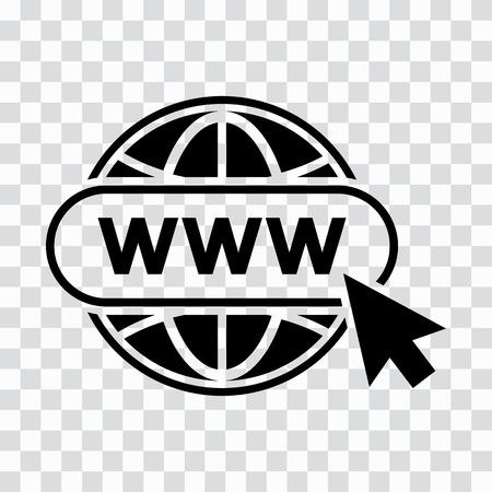Site web icône sur fond transparent . vector illustration Banque d'images - 98120183