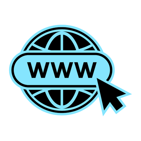 Website icon. Vector illustration
