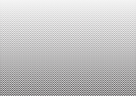 Abstract geometric monochrome background with hexagons. Vector illustration