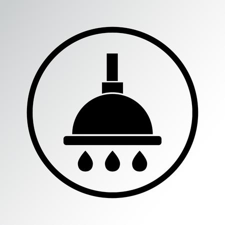 Shower icon vector illustration.