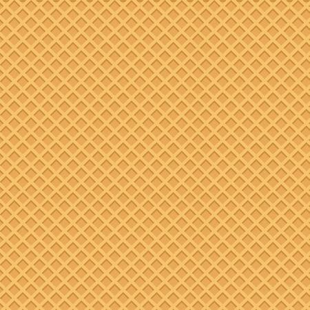 Yellow wafer background. Vector illustration Фото со стока - 123250173