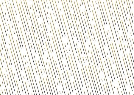 Abstract background with gold dotted lines, colored gradient, rain texture. Vector illustration