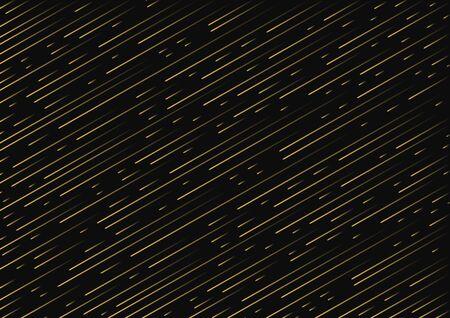 Slanted golden lines, glitter background, colored gradient. Vector illustration