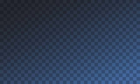 Abstract transparent background with blue gradient, checkered pattern. Vector illustration 向量圖像