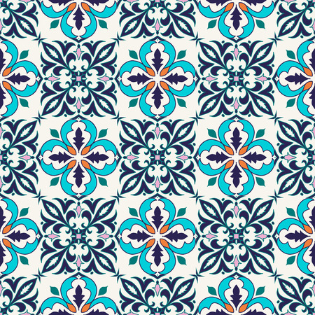 Beautiful colored pattern for design and fashion with decorative elements