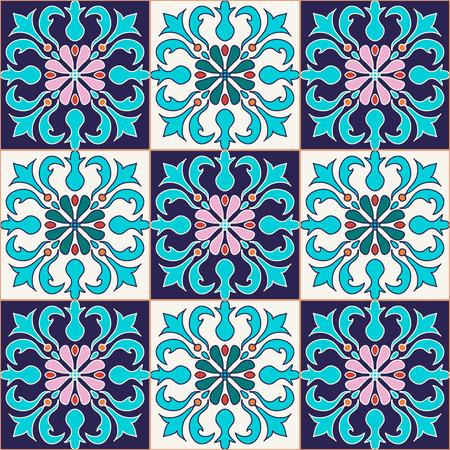 Beau motif de couleur pour la conception et de la mode avec des éléments décoratifs