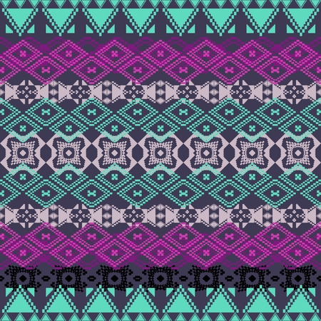 Ethnic tribal geometric pattern.