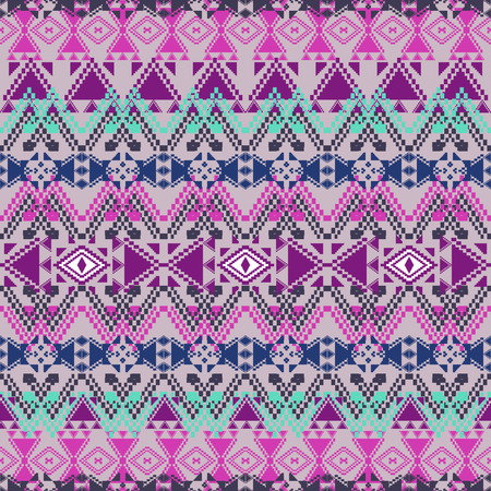 Ethnic tribal geometric pattern.