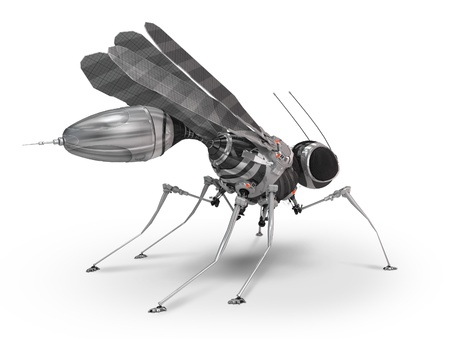 Robot mosquito photo