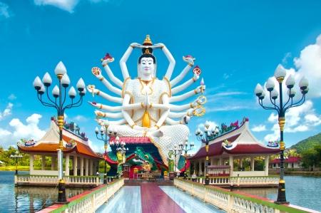 Kuan Yin statue on Koh Samui, Thailand