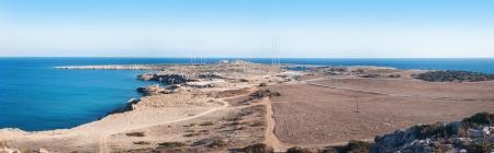 greco: panorama of Cape Greco or Cavo Greco, Agia Napa, Cyprus