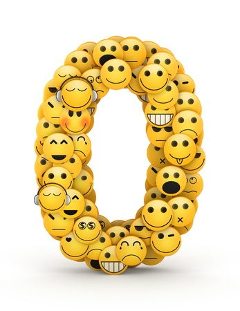 compiled: Number 0  compiled from Emoticons smiles with different emotions