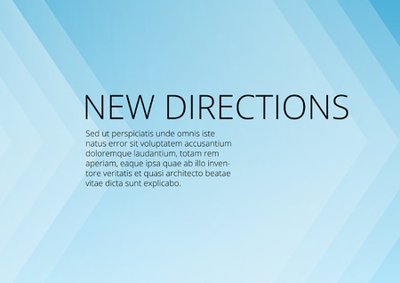 Background for presentation with copy space clean light blue Vector