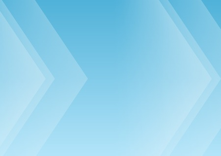 Abstract blue arrows background for presentation with copy space