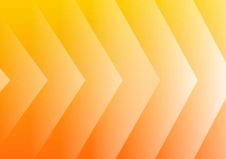 Abstracte gele pijlen achtergrond voor presentatie Stock Illustratie