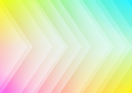 Abstract colored arrows background for presentation