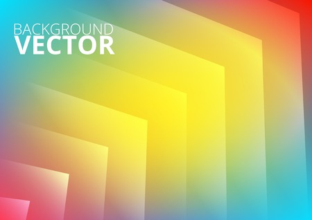 Abstract colored arrows background for presentation Vector