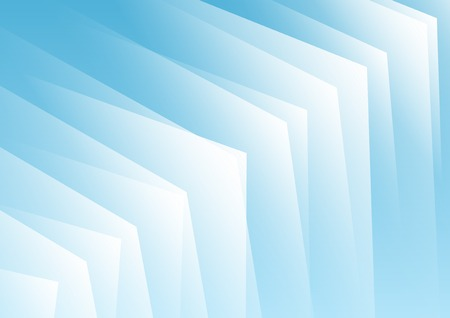Abstract blue arrows background for presentation