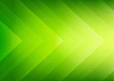 green light: Abstract green ecology theme arrows background for presentation