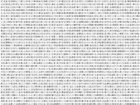 listing: Hoja de c�digos binarios listado de textura de fondo