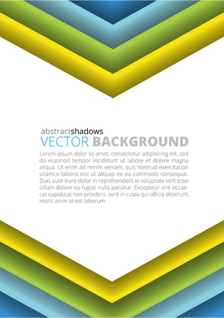 hue: Abstract  colored soft hue triangle shapes background illustration