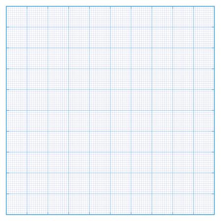 milimetr: Milimetr papier o rozmiarze 100mm siatka Ilustracja
