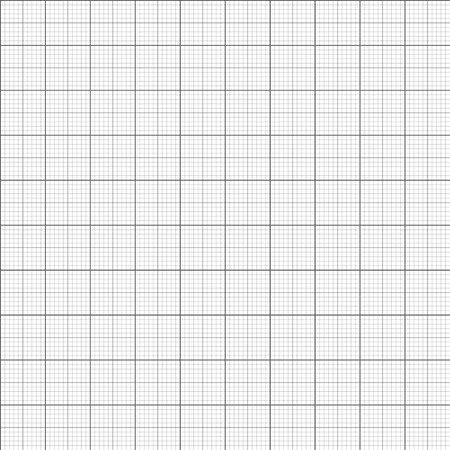 Gray grid paper - technical engineering line scale measurement seamless pattern