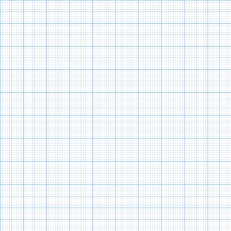 grid paper: Millimeter paper one, five and ten mm grid shift Illustration