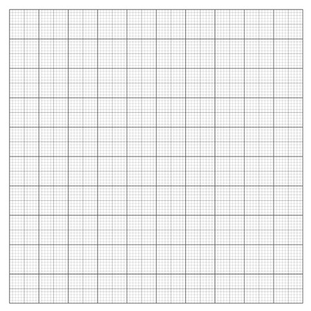Gray grid paper - technical engineering line scale measurement 100mm patch