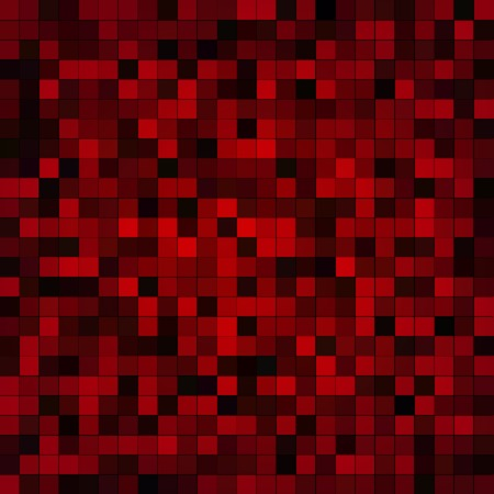 Digital Technology Dark Red Pixels Grid Vector Background Vector
