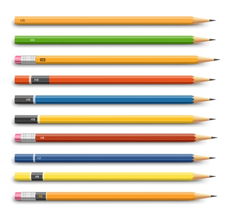 Pencils various design Çizim