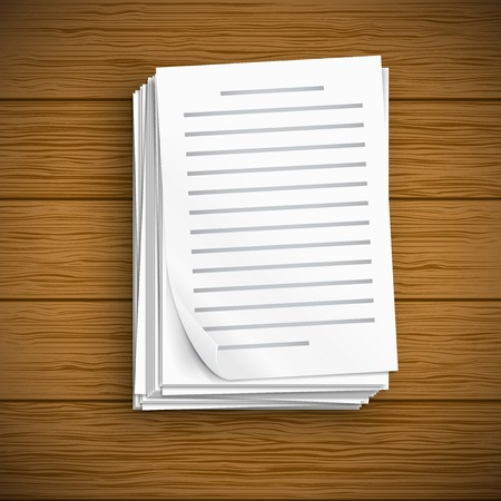 stack of documents: Paper sheet  icons